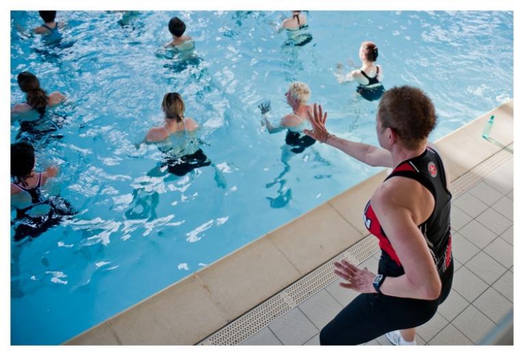Centre de remise en forme avec piscine Aquagym Club à Marrakech