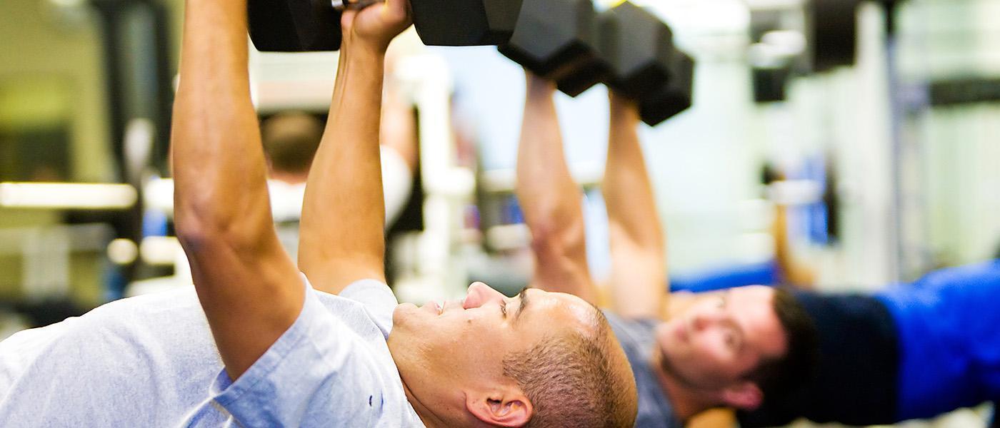 Premium Fitness Majorelle <br> Espace 100% Men